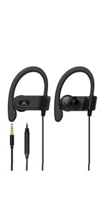 wired earbuds with earhooks