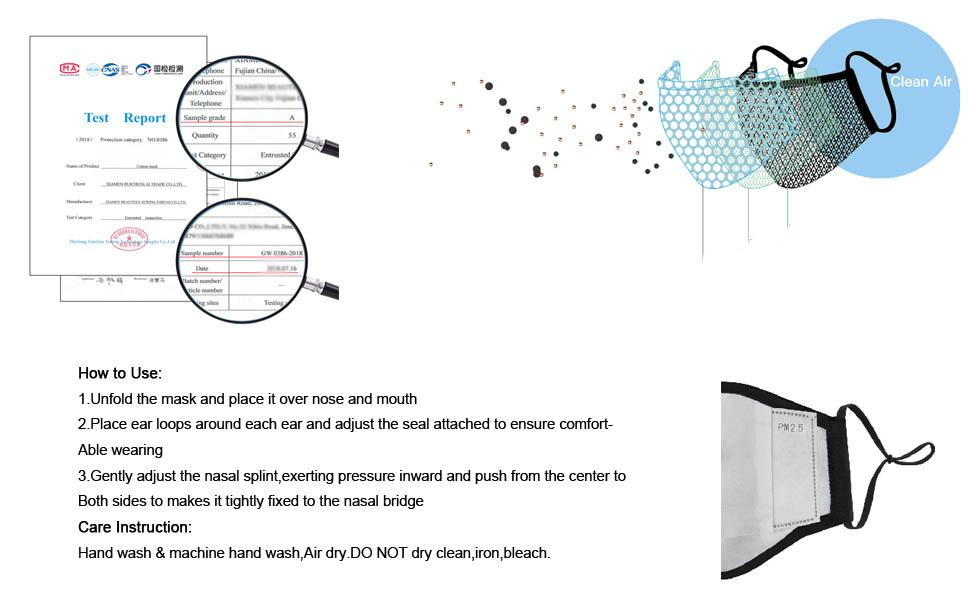 face cover reusable