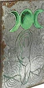 Book Box Triple Moon Goddess Tree of Life Pentacle Set 3