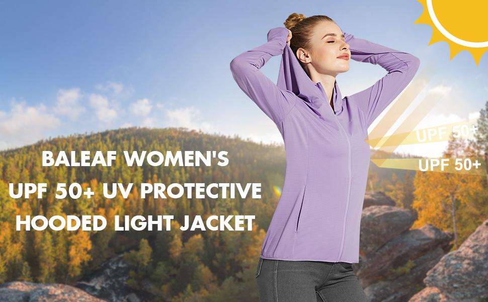 baleaf sun shirts uv protection hiking jackets