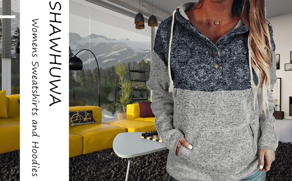 Womens Sweatshirts and Hoodies