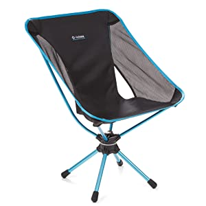 Helinox Swivel Chair Lightweight, Versatile, Compact, Collapsible Camping Chair