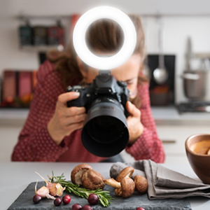 camera ring light