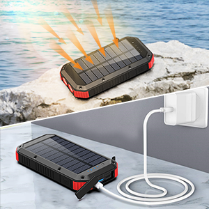 portable wireless charger solar cell phone charger solar portable charger