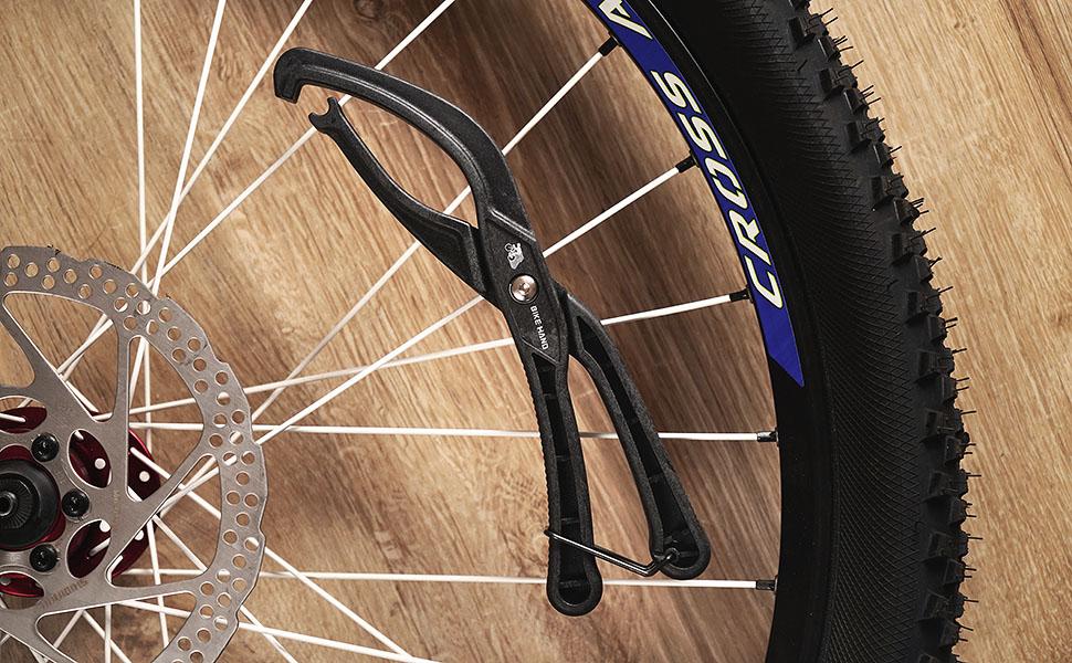Easy Tire Tool,Bike Rim Protector Tool,Bike Tyre Install Labor-Saving Tools,Bike Tire Lever for Road Bike Mountain Bike