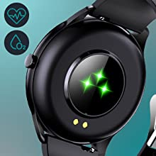 Smartwatch with health monitor