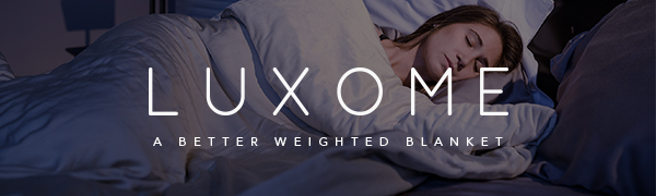luxome weighted blankets best gravity cooling bamboo lyocell premium luxury 1mm glass bead cover 15