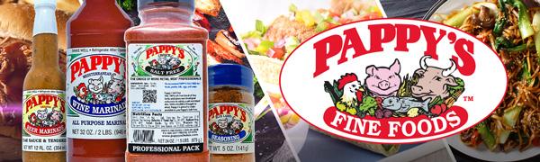Pappys choice seasonings bbq rub meat seasoning