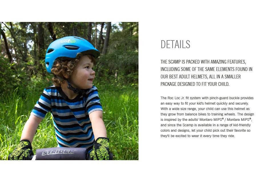 scamp helmet details