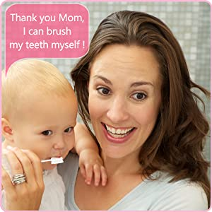baby care - Baby Toothbrush, Infant Toothbrush Clean Baby Gums Disposable Tongue Cleaner Gauze Toothbrush Infant Oral Cleaning Stick Dental Care For 0-36 Month Baby