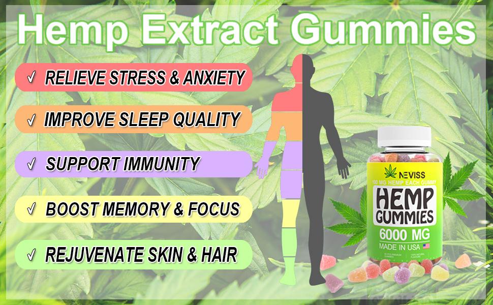 stress relief gummy