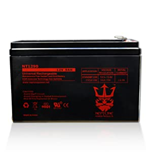 Neptune NT-1290 12V 9Ah Rechargeable SLA Battery