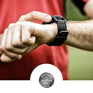 Murata silver-oxide watch battery series