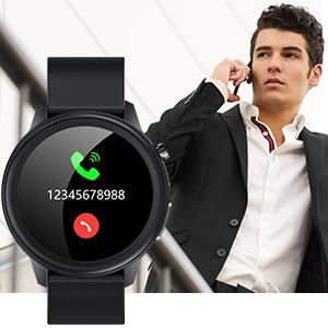 Smartwatch für Herren mit Benachrichtigung
