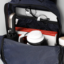laptop backpack Roomy Main Compartment