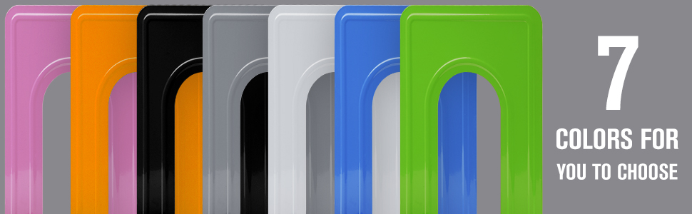 7 colors bookends