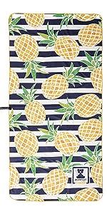 strand sommer badetuch strandtuch xxl tuch ananas gestreift groß badehandtuch mikrofaser leicht