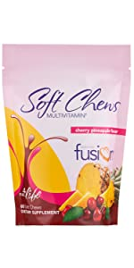 Bariatric Fusion Soft Chew Bariatric Multivitamin for weight loss surgery including gastric bypass