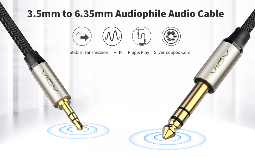 3.5mm to 1/4 adapter