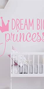 JURUOXIN Dream Big Princess