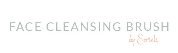 Face cleansing brush makeup remover skin cleanse scrub massager blackhead exfoliating brush