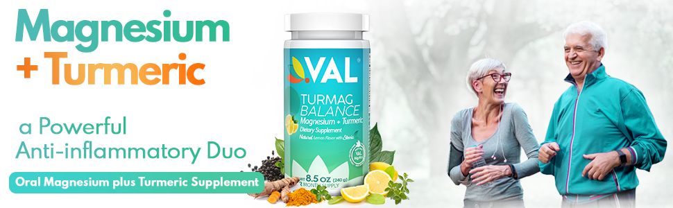 magnesium, turmeric a poweful anti-inflammatory duo