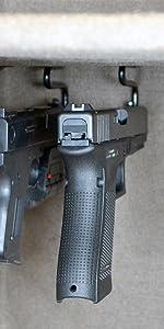 Back-Under Handgun Hangers