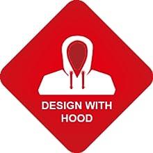 hooded hoodie winter coat