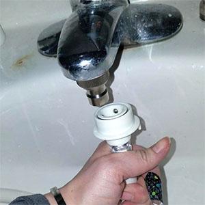 Connect faucet