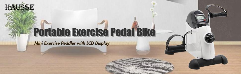 Elektrisch Pedal Exerciser f/ür Senioren Tragbares Fitness-Fahrrad f/ür die Arm//Bein/übung Mini Radfahren Trainer Station/äre /Übung Beinh/ändler