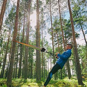 AIXMEET Bandas Elásticas, 11 Piezas Bandas de Fitness Musculacion, Resistencia al Ejercicio Tubos de Entrenamiento para Deportes Interiores o Exteriores, Fitness, Fuerza, Gimnasio en Casa o Yoga: Amazon.es: Deportes y aire libre