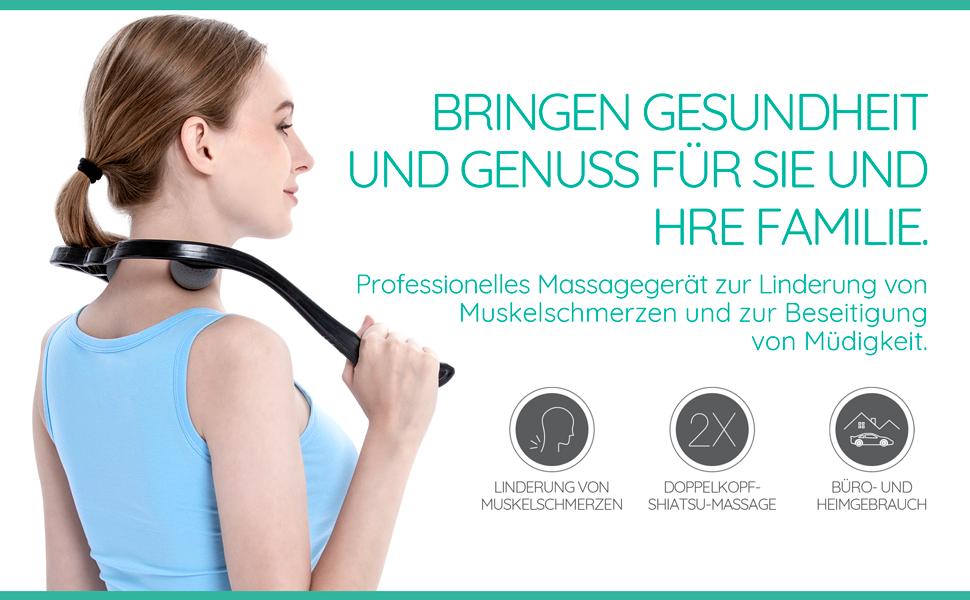 Holz Roller Gesundheit Massagegerät Gesicht Körper Stress Linderung Jt