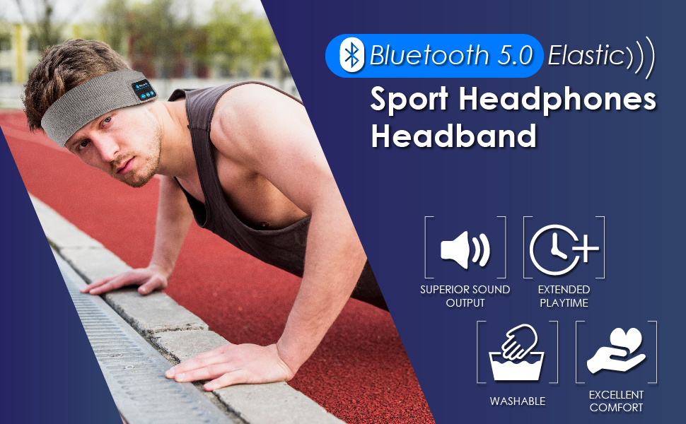 sports headphones heandband