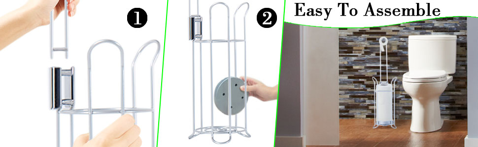 Toilet Paper Stand and Dispenser Toilet Paper Holder Toilet Paper stand Tissue Paper Roll Holder