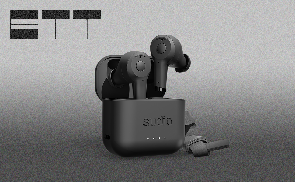 Sudio Ett True Wireless Bluetooth Earbuds in Compact Charging Case