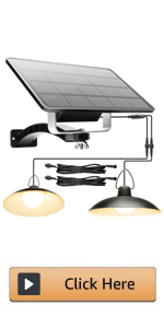 Double Head Solar Shed Light
