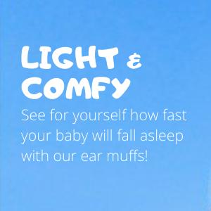 light baby headphones ear muffs