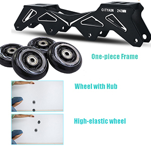 Pro frame and wheel