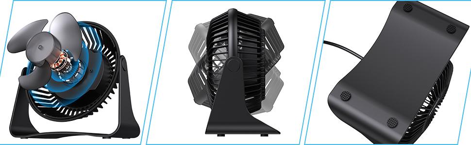 small fan desk fan table fan usb fans personal fans quiet fan portable mini fan 6 inch electric usb