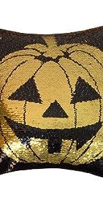 Pumpkin with sequins