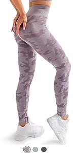 camo workout leggings