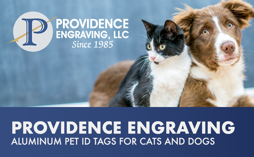 providence engraving aluminum pet tags
