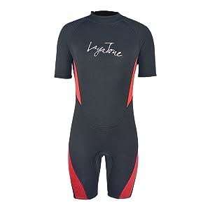 diving suit shorty wetsuits men women 3mm neoprene suit surfing suit canoeing snorkeling suit women