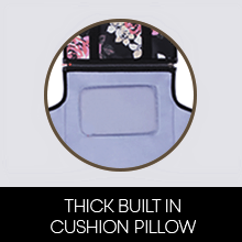 thick soft cushion built-in pillow headrest clean hygiene baby care diaper cleaning travel portable