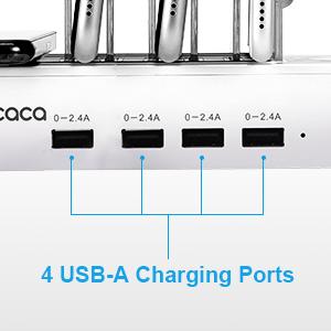 USB Port Family Charge Docking