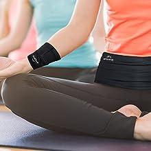 travel wallet  running belt for phone waist bag  travel money belt fanny pack flip belt