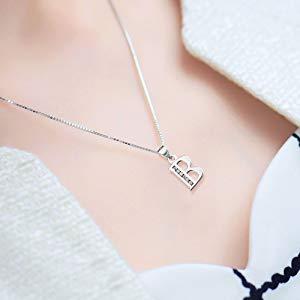 B Letter Necklace