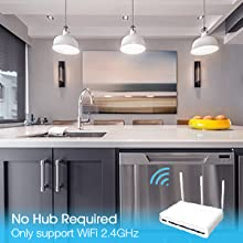 no hub required