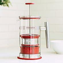 simpli press french press coffee