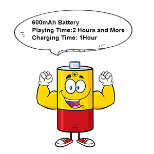 rechargeable battery play with long time